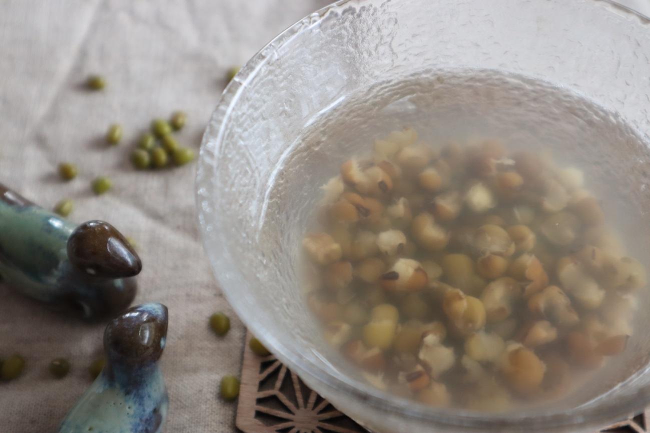 緑豆のお汁粉