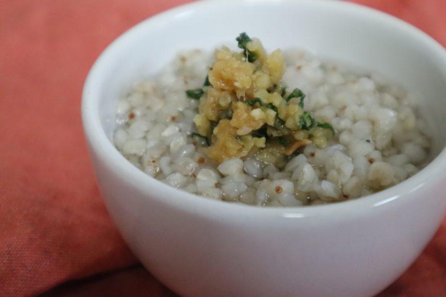 季節の養生 介護食レシピ ~下痢・便秘解消に、梅雨頃に旬を迎える食材でつくるレシピ~