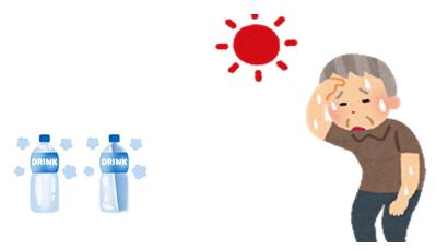 高齢者の水分補給