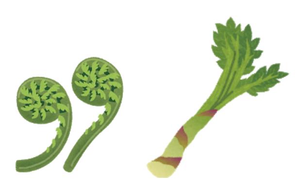 春の山菜、食べ方と健康効果について