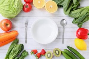 カラフルな野菜を食べてバランスのいい食生活を