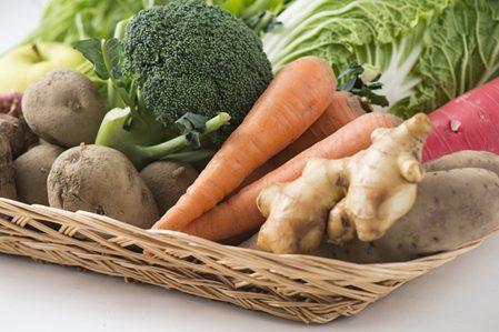 体を温める食材を食べて体の中から温める
